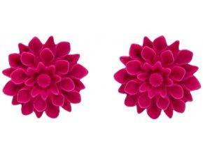 raspberry flowerski nausnice