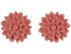 salmon flowerski nausnice