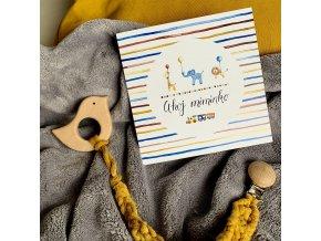 přáníčko pro miminko flowerski1