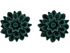 jungle flowerski nausnice