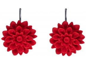 cranberry cervene visaci nausnice flowerski