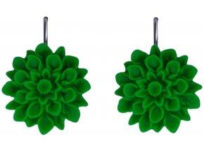 spring grass zelene visaci nausnice flowerski