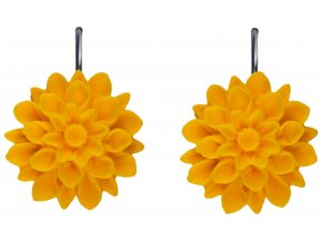 sunflower zlute visaci nausnice flowerski