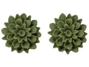 greece olive flowerski nausnice