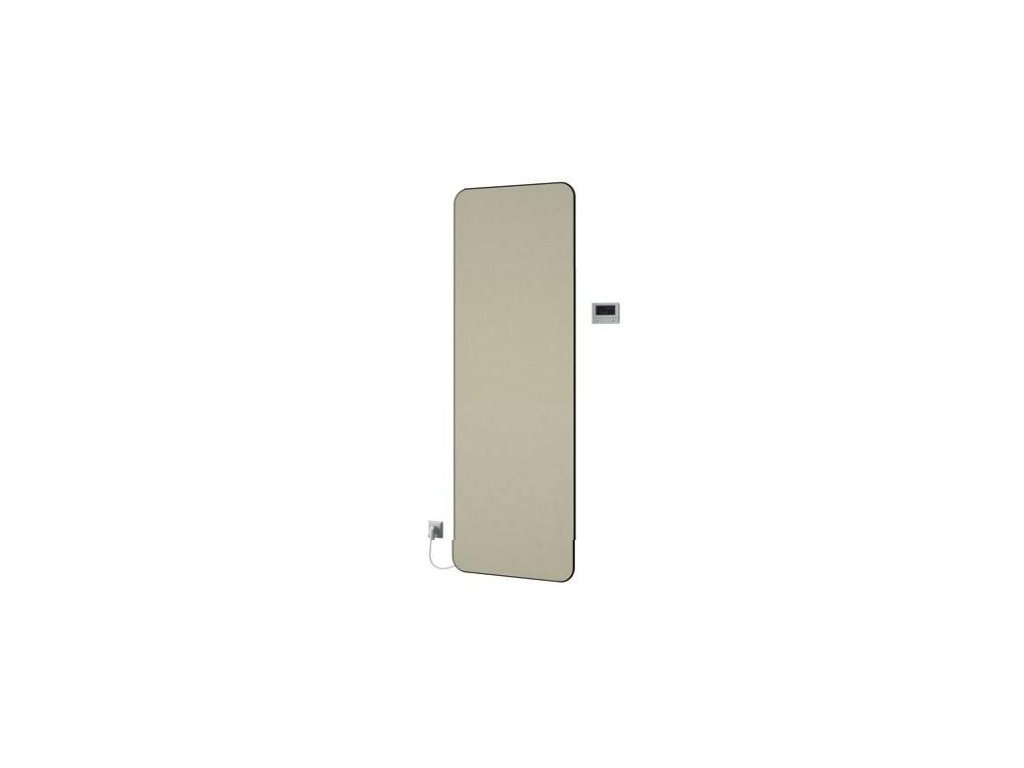 NOVINKA - ISAN E - SLIM elektrický koupelnový, designový radiátor, sněhově bílý (RAL 9016)