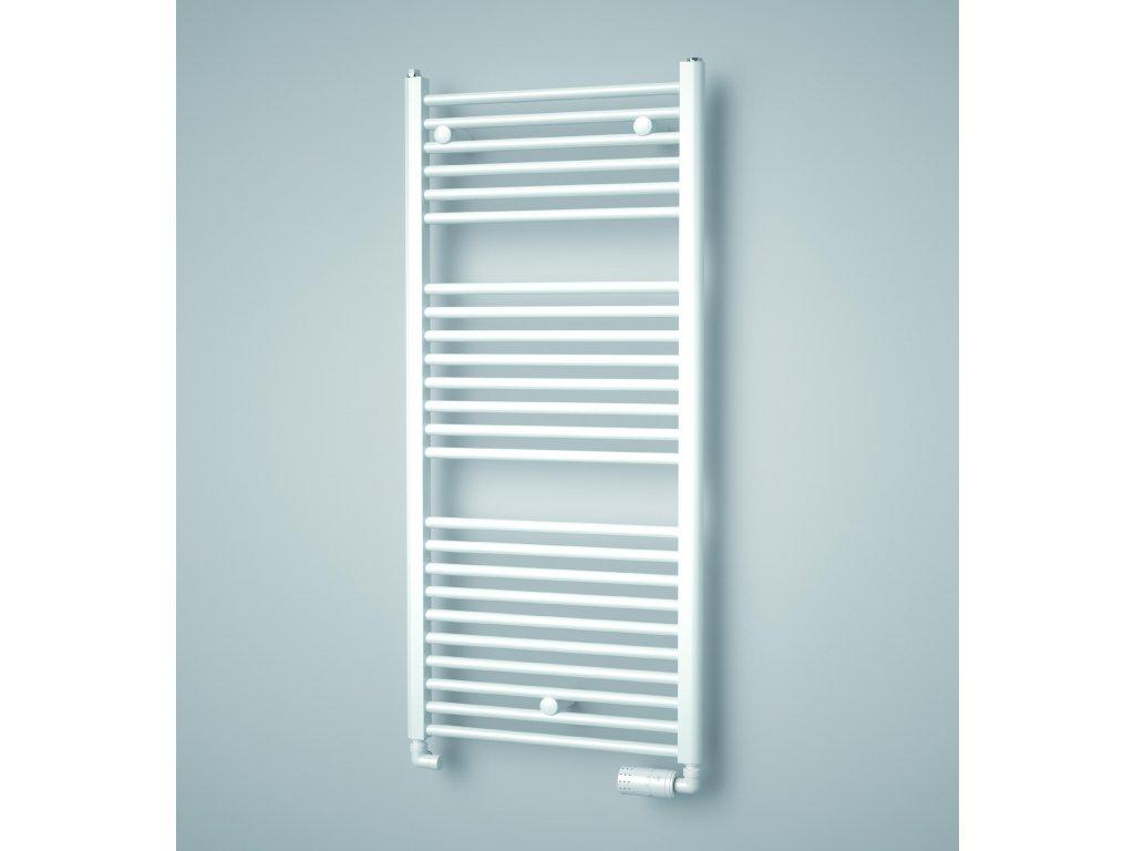 ISAN GRENADA koupelnový radiátor, sněhově bílý (RAL 9016)