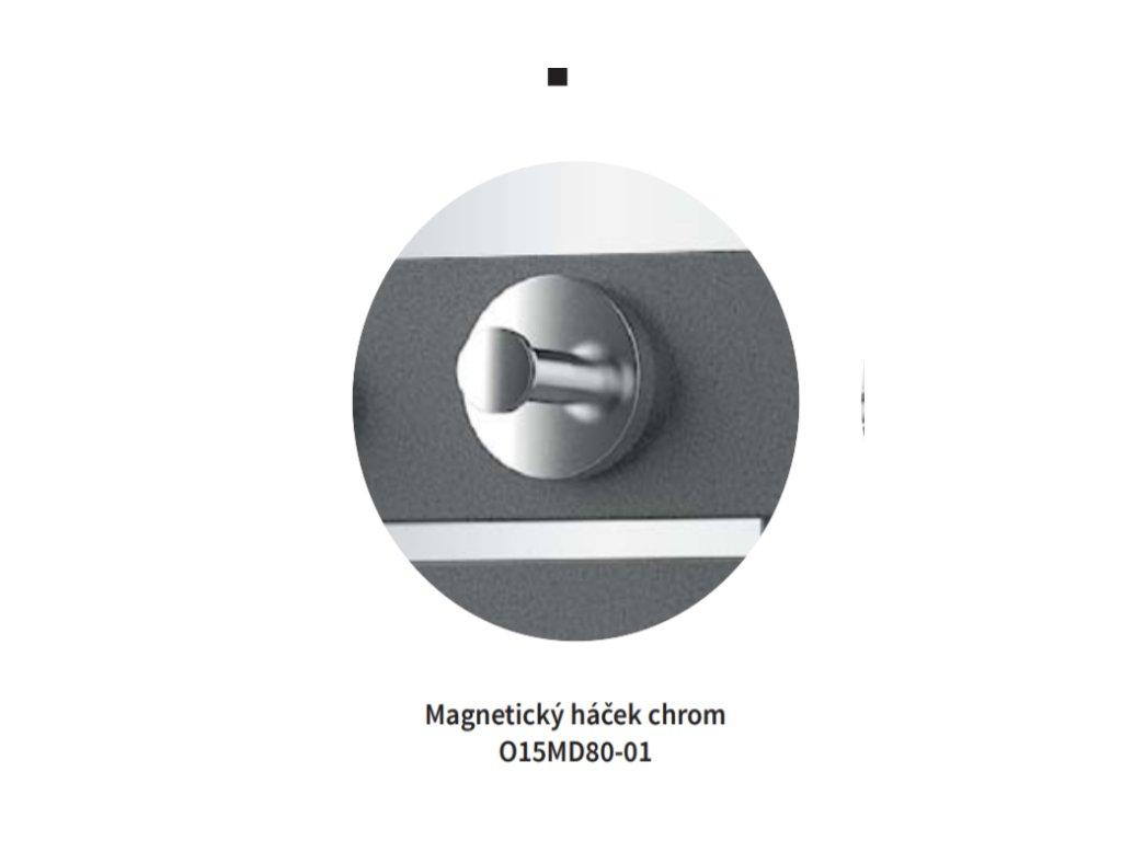 Isan Magnetický háček chrom