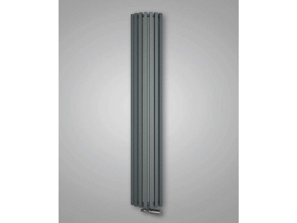 ISAN OCTAVA RADIUS koupelnový radiátor, sněhově bílý (RAL 9016) 1800/295