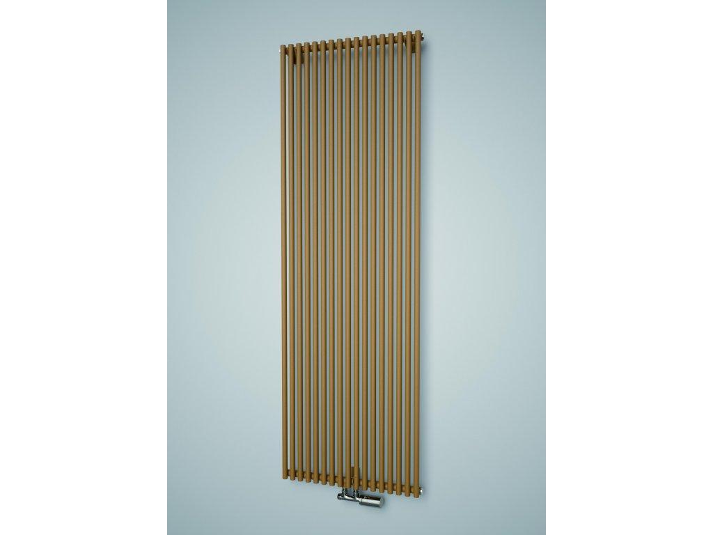 ISAN ARUBA koupelnový radiátor, sněhově bílý (RAL 9016)