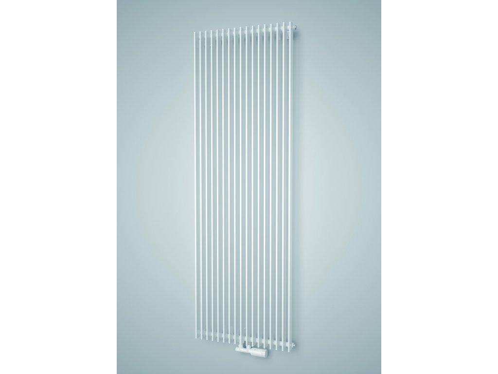 ISAN ANTIKA LIGHT koupelnový radiátor, sněhově bílý (RAL 9016) 1800/300