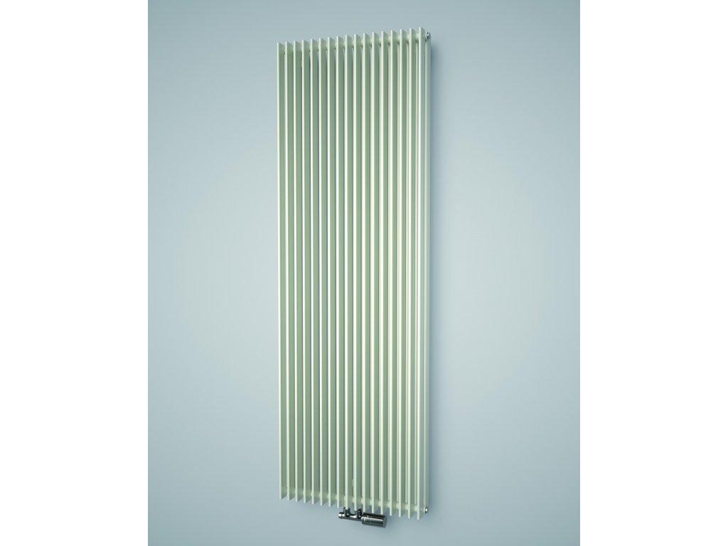 ISAN ANTIKA DOUBLE koupelnový radiátor, sněhově bílý (RAL 9016) 1800/300