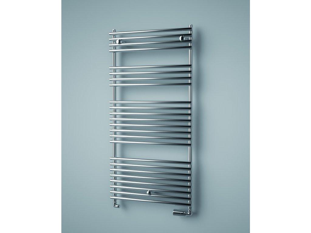 ISAN IKARIA CHROM elektrický koupelnový radiátor 732/500