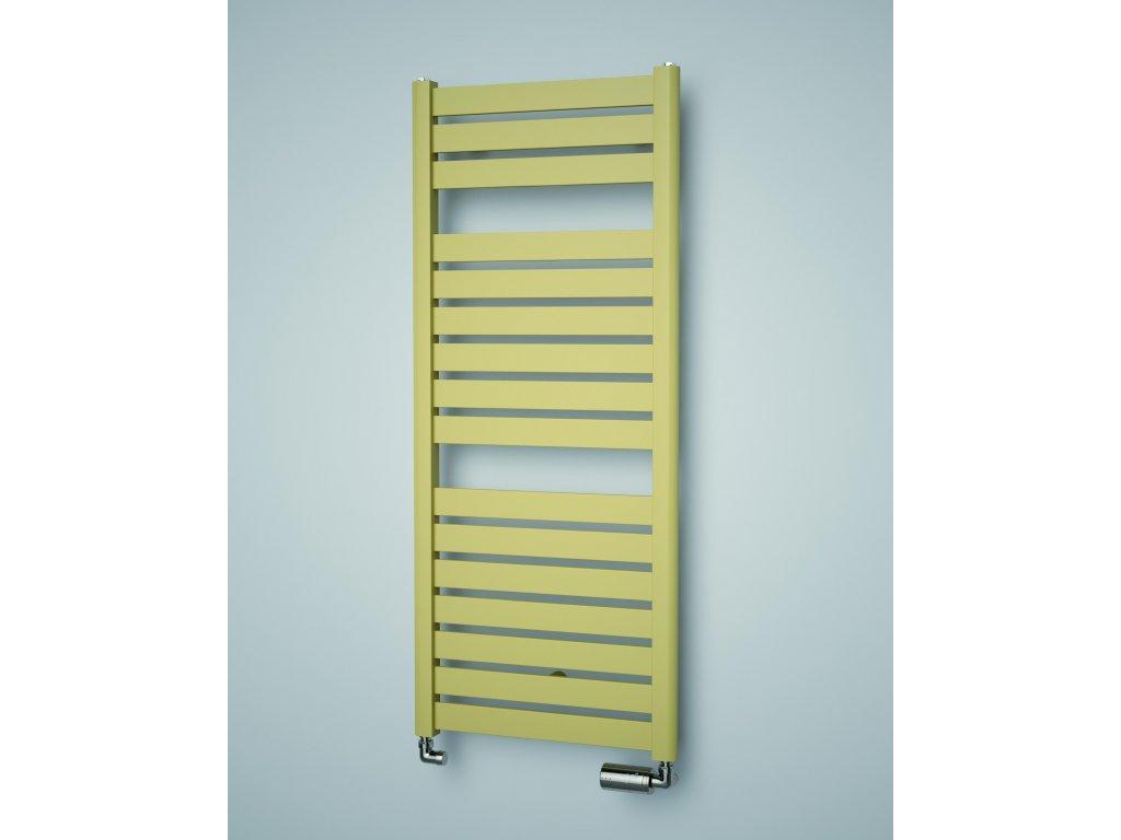 ISAN MAPIA LIGHT koupelnový radiátor, sněhově bílý (RAL 9016) 1180/500