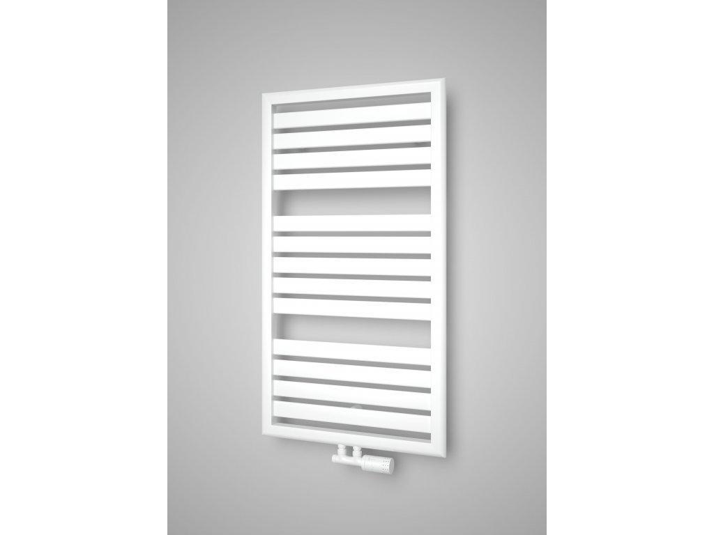 ISAN MAPIA LIGHT PLUS koupelnový radiátor, sněhově bílý (RAL 9016) 1090/600