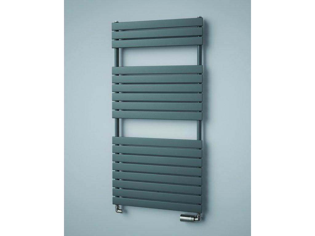 ISAN MAPIA PLUS koupelnový radiátor, sněhově bílý (RAL 9016)