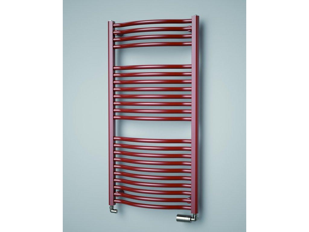ISAN LINOSIA PLUS elektrický, koupelnový radiátor, sněhově bílý (RAL 9016)