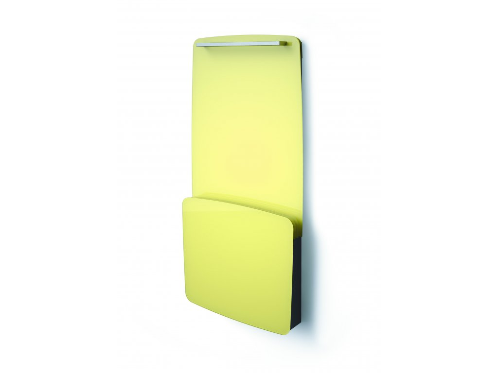 ISAN JOY BATH R vanilkový/vanilla shake, skleněný designový radiátor 725/2