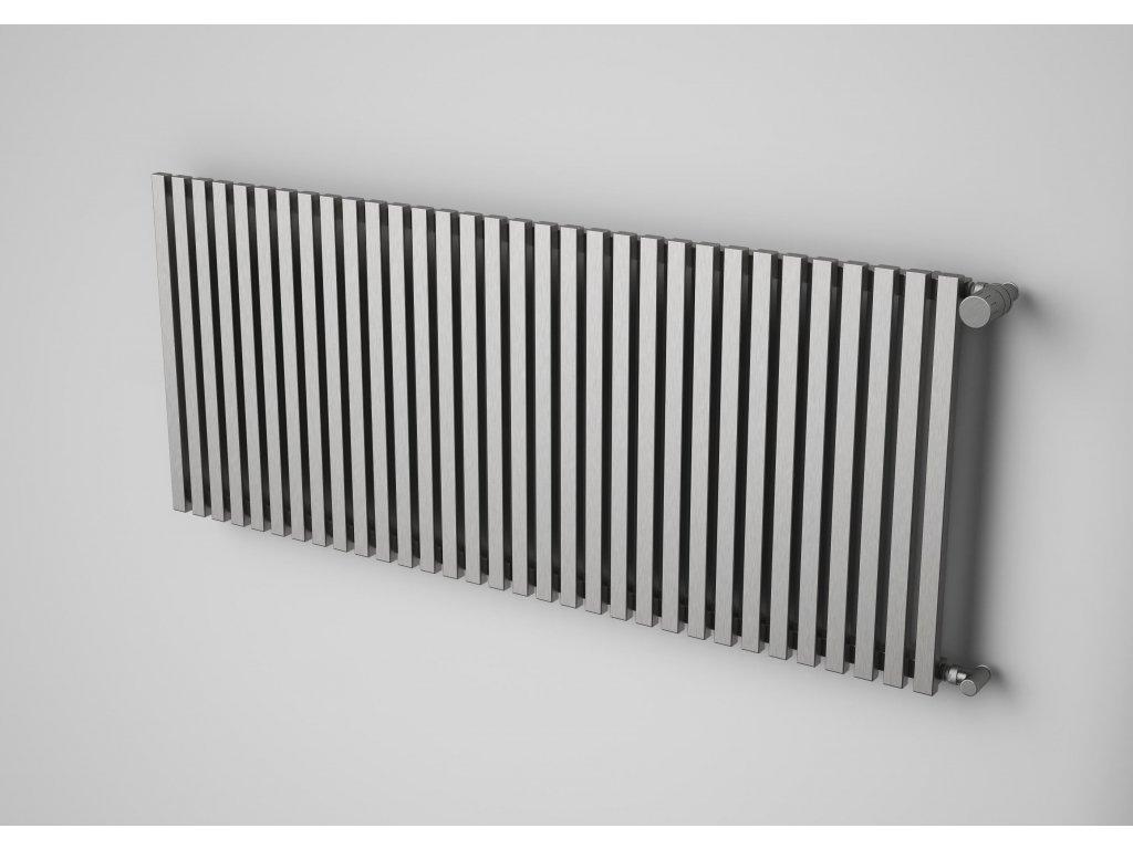 NOVINKA - VEGA INOX koupelnový, designový radiátor, kartáčovaná nerez 600/1020