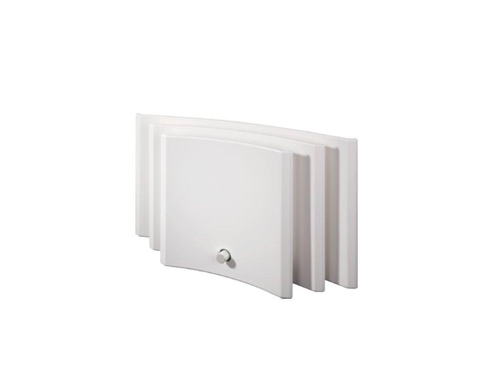 TOMTON R3 single (Systém Přirozené proudění, Odstíny krytu Bílá Tomton 1516 (RAL9003), Odstíny ventilu Světlá (RAL 9002))