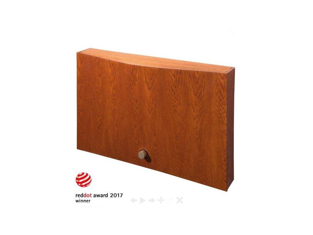 TOMTON R4 double (Systém Přirozené proudění, Odstíny krytu J1 javor bělený MAPLE01, Odstíny ventilu Světlá (RAL 9002))