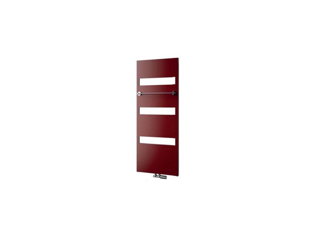 NOVINKA - ISAN CARME designový, koupelnový radiátor, sněhově bílý (RAL 9016)1143/605