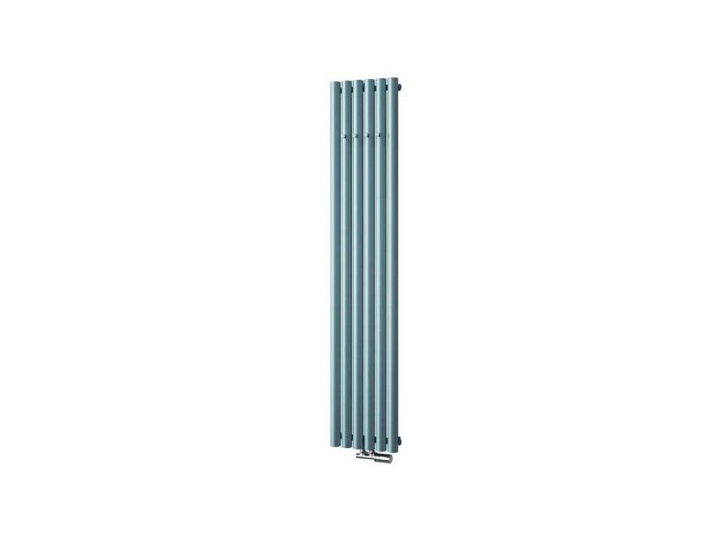 ISAN AKROS koupelnový radiátor, sněhově bílý (RAL 9016) 1800/350