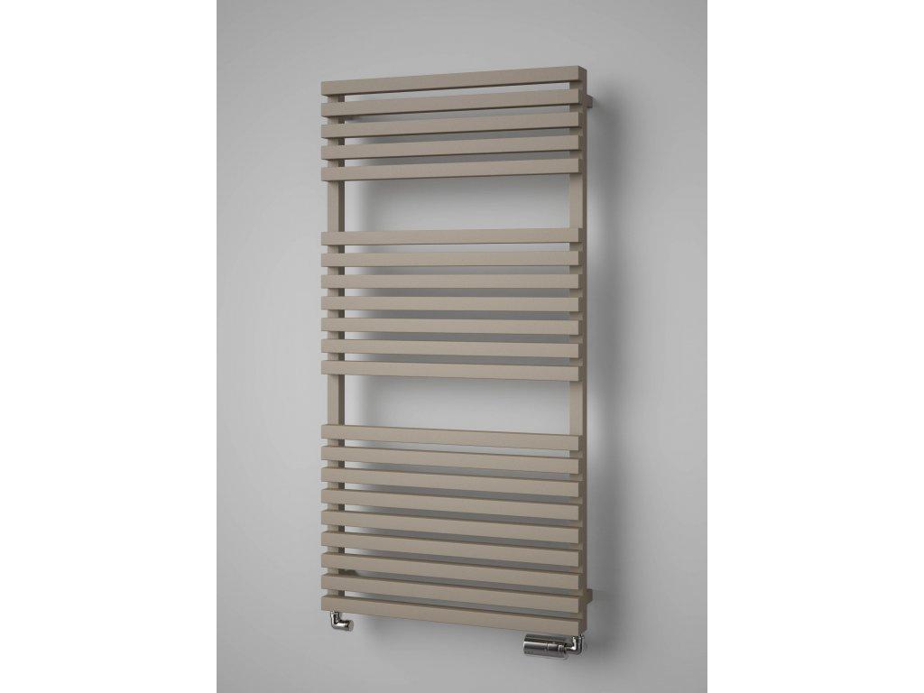 ISAN CLUB EDGE koupelnový radiátor, sněhově bílý (RAL 9016)