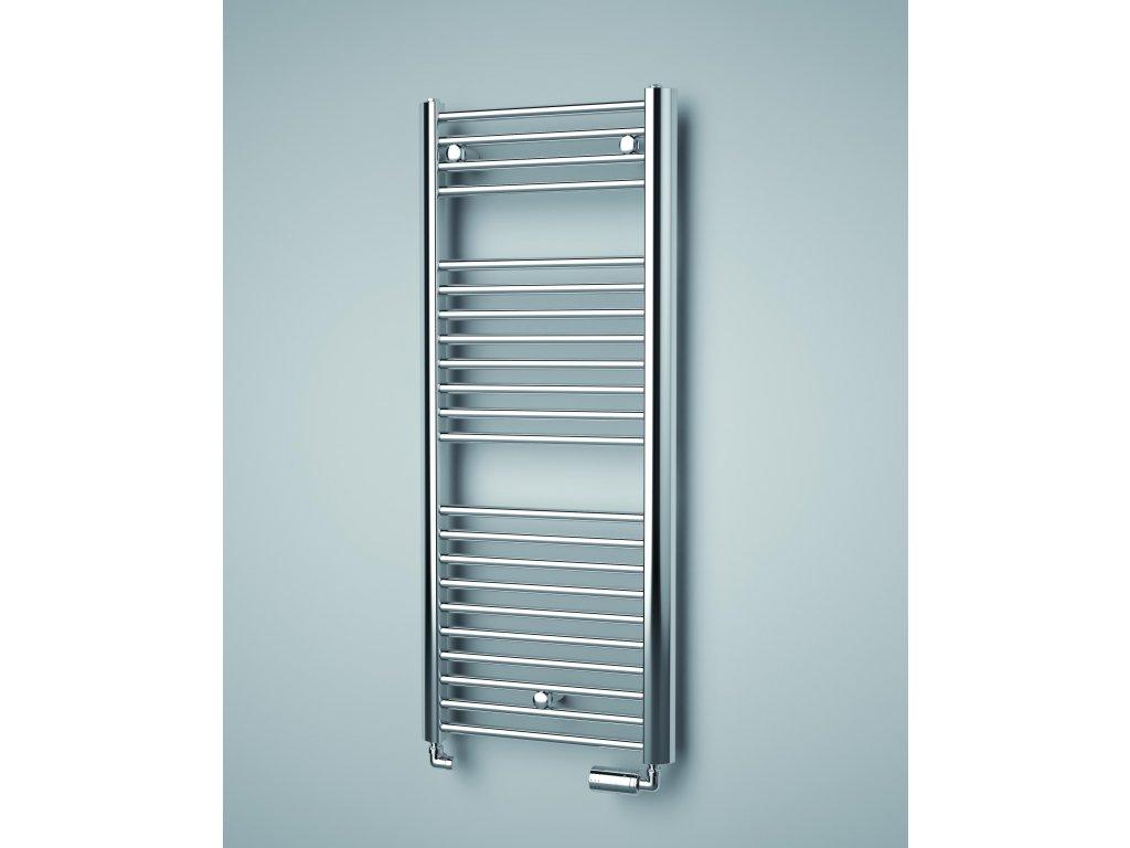 ISAN SPIRA CHROM koupelnový radiátor