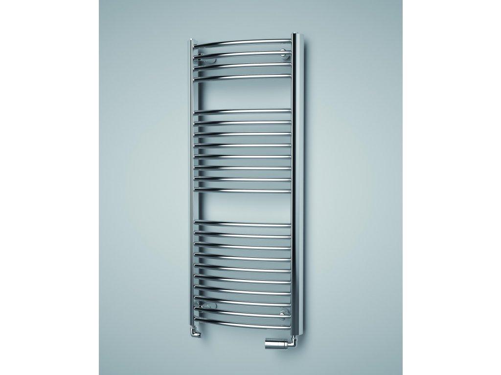 ISAN SPIRA RADIUS CHROM koupelnový radiátor