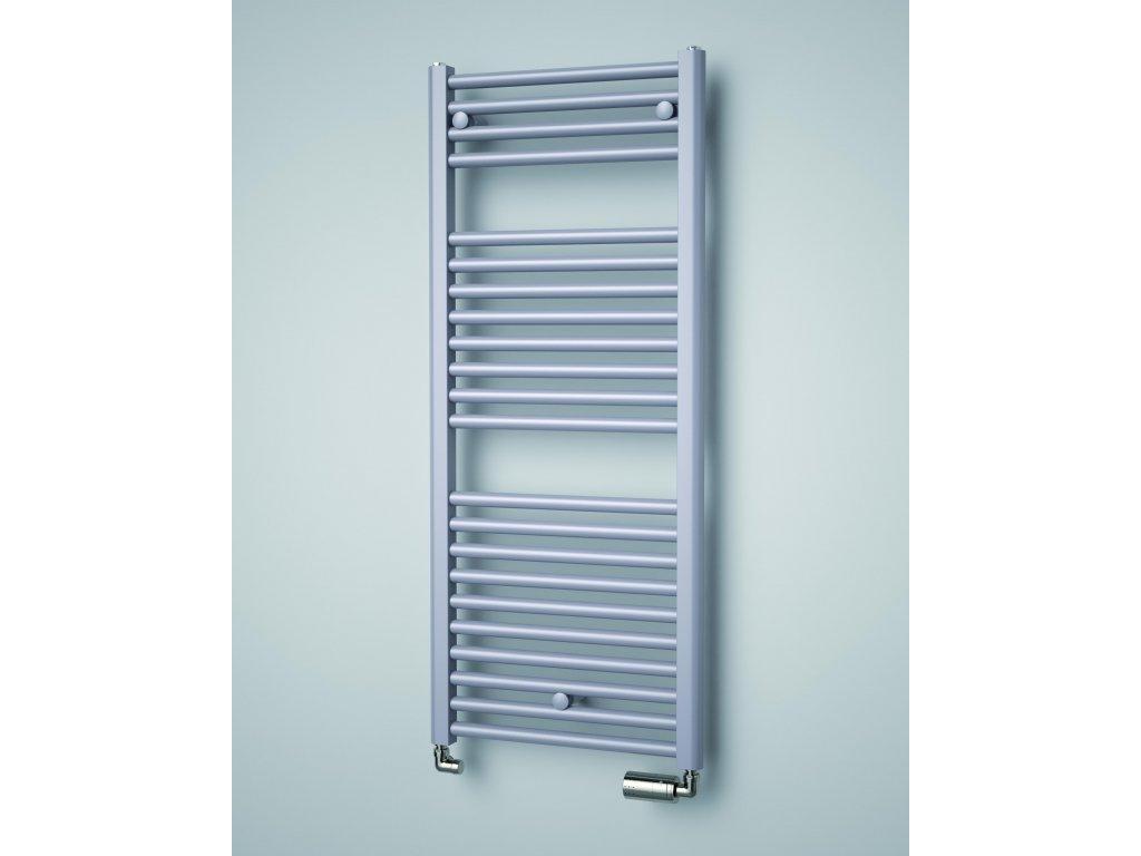 ISAN LINOSIA koupelnový radiátor, sněhově bílý (RAL 9016)