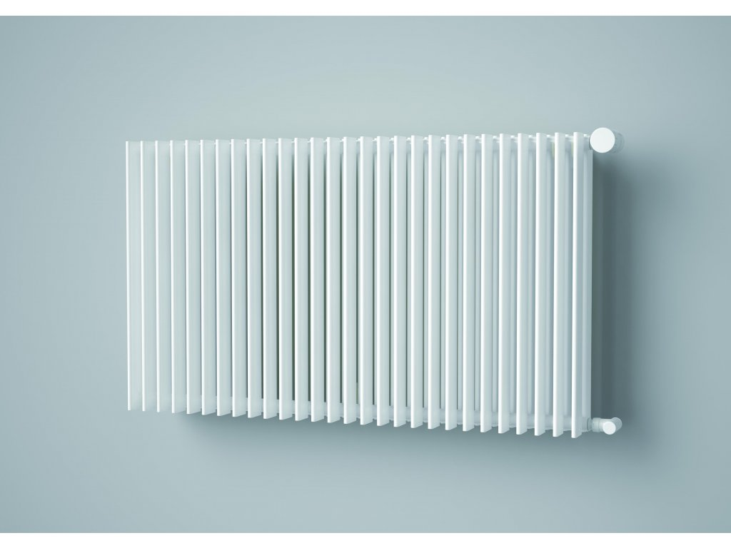 ISAN ANTIKA DOUBLE HORIZONTAL koupelnový radiátor, sněhově bílý (RAL 9016)