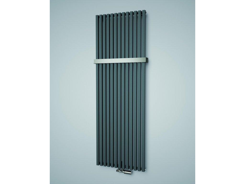 ISAN OCTAVA koupelnový radiátor, sněhově bílý (RAL 9016) 1800/318