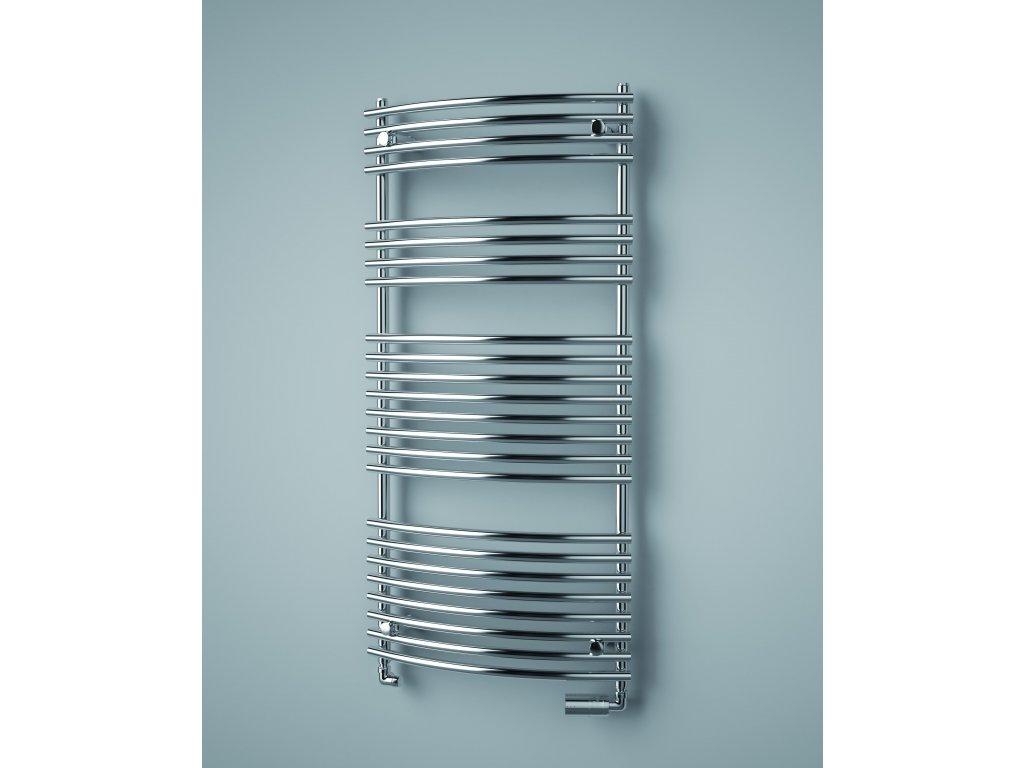 ISAN IKARIA RADIUS CHROM koupelnový radiátor