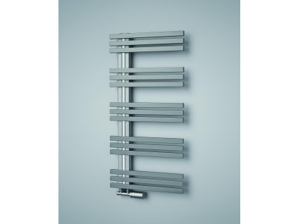 ISAN ECHO INOX koupelnový, designový radiátor, kartáčovaná nerez 1000/500