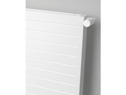 ISAN F20 H lamelový radiátor, sněhově bílý (RAL 9016) (Připojení AD, Výška 1000, Šířka 560)