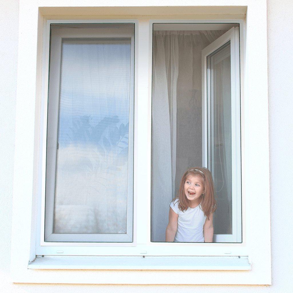 Sítě proti hmyzu Nasazené za rám okna - varianta Standard