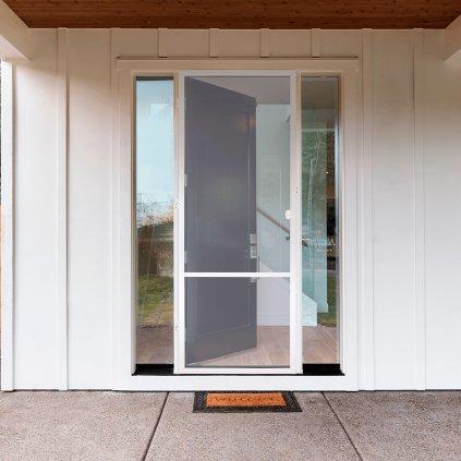 ítě proti hmyzu Vrtané na dveře s profilem Decor den