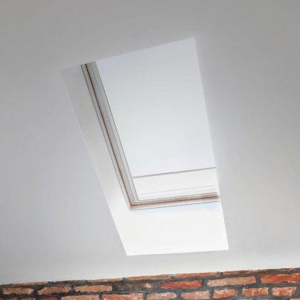 Roleta Termo na střešní okna STANDARD, T 051, Bílá detail