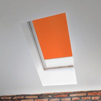 Roleta Termo na střešní okna STANDARD,T 060, Oranžová detail