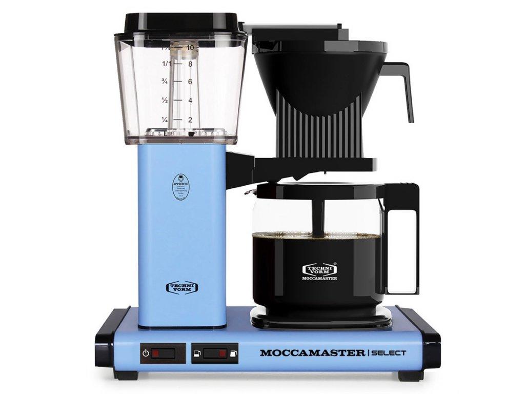 Moccamaster kávovar KBG Select pastelově modrý