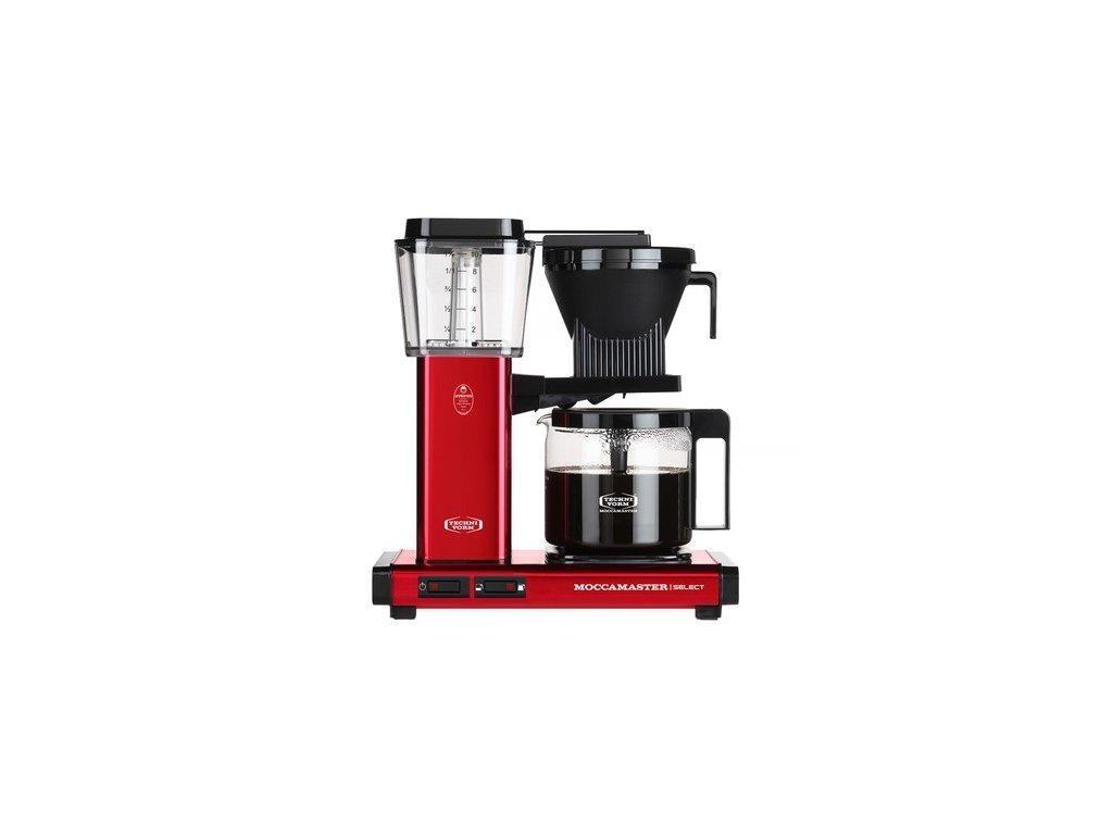 Moccamaster kávovar KBG Select červená metalíza