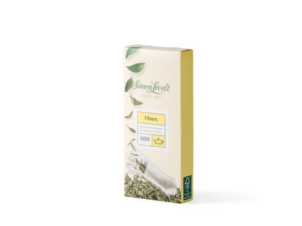 Simon Lévelt filtry na čaj velikost L
