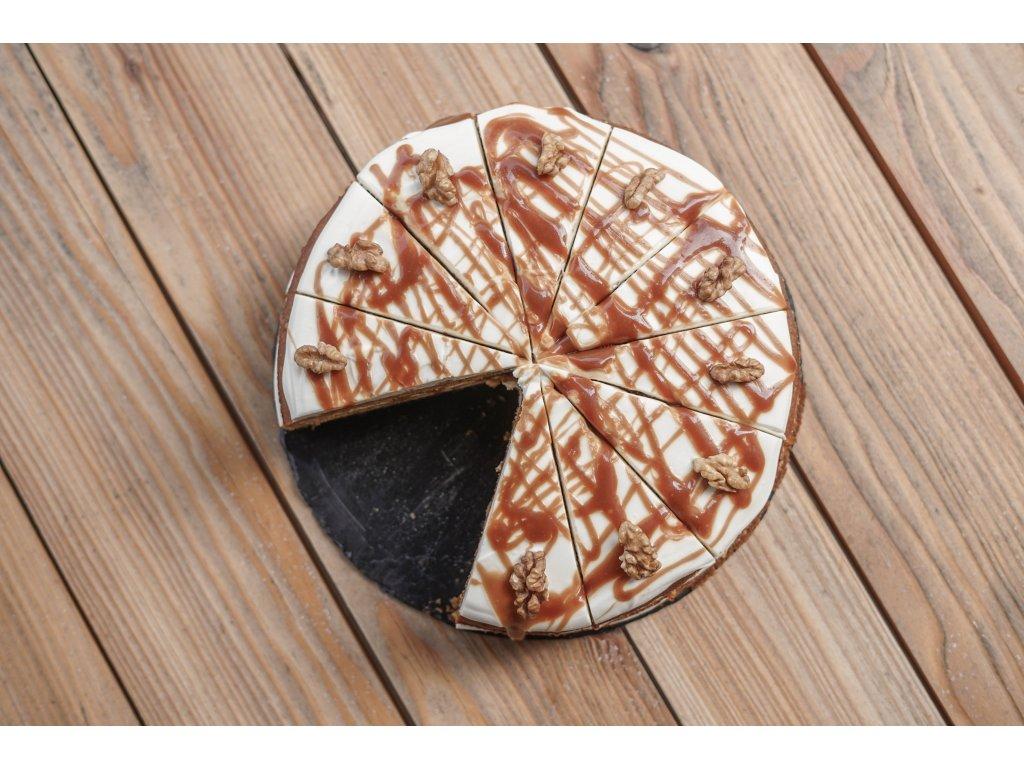 Dynovy dort se slanym karamelem 1