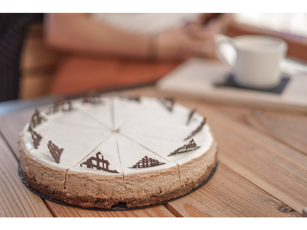 Čokoládový cheesecake