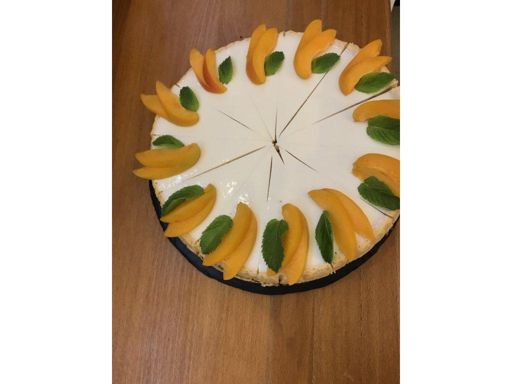 Cheesecake meruňkový