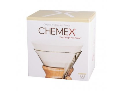 Chemex papírové filtry kulaté 100 ks
