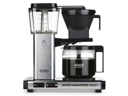 Moccamaster kávovar KBG Select brushed