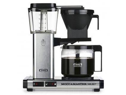 Moccamaster kávovar KBG Select brushed