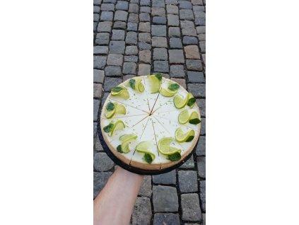 Cheesecake limetkový