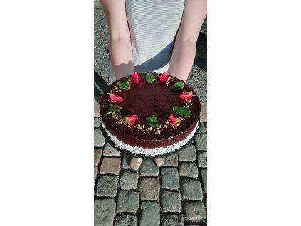 Avokádový dort - VEGAN